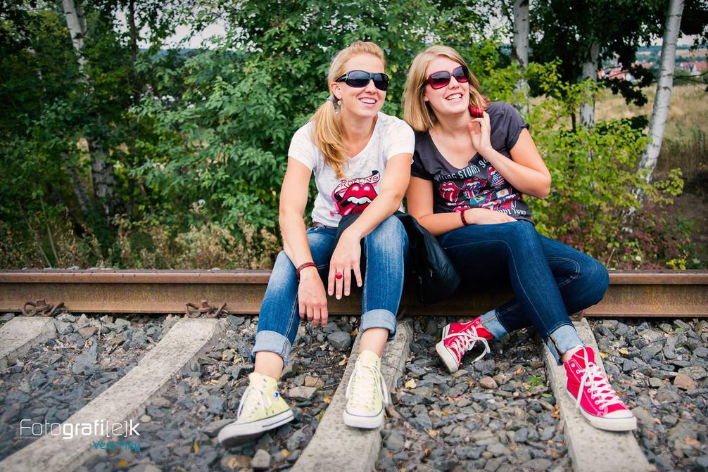 Bahnschienen   Gleiße   Kaufungen   Outdoorshooting