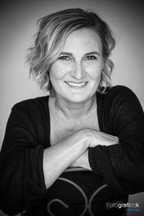 Portraitshooting   Schwarz-weiß