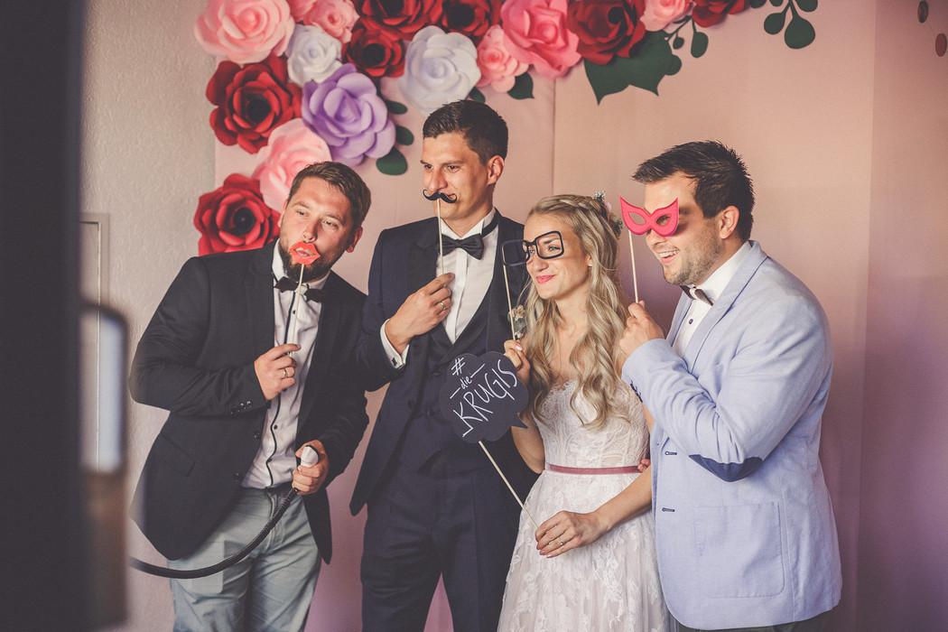 Fotobox | Hochzeit | Freunde
