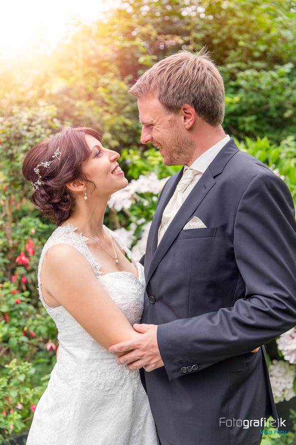 Brautpaarshooting | Blumen | Garten