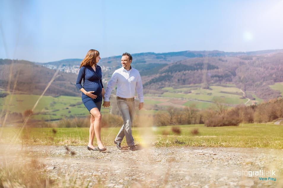 Spaziergang | Schwanger | Natur | Berge