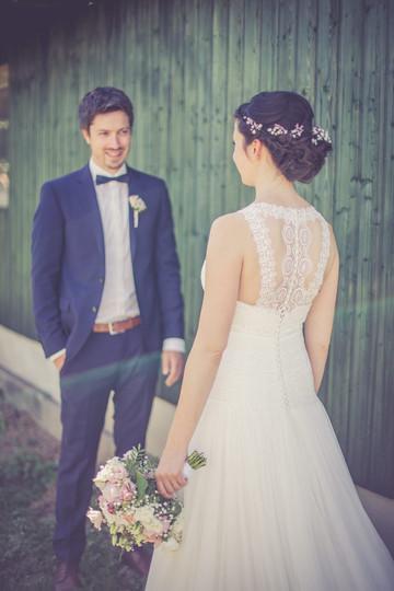 Brautkleid| Rückenausschnitt | Scheune