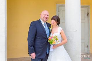 Brautpaarshooting | Brautstrauss | Schloss Wilhelmsthal