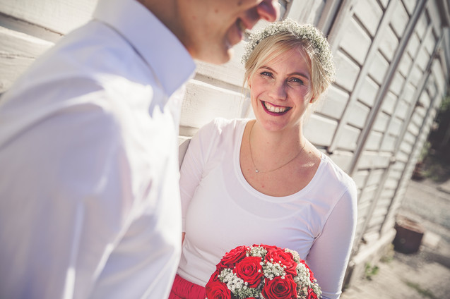 Braut | Brautstrauß | Brautpaarshooting