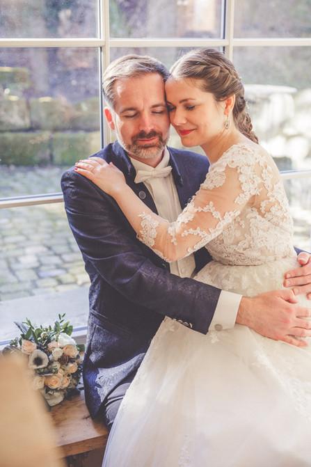 Romantisch | Brautstrauß | Brautpaar