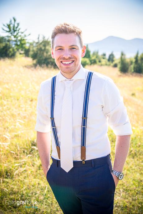 Bräutigam | Hosenträger | Krawatte