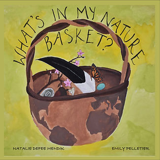 WHAT'S IN MY NATURE BASKET Book Cover