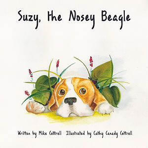 SUZY, THE NOSEY BEAGLE Book Cover
