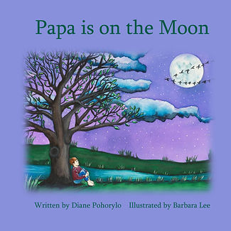 PAPA IS ON THE MOON Book Cover