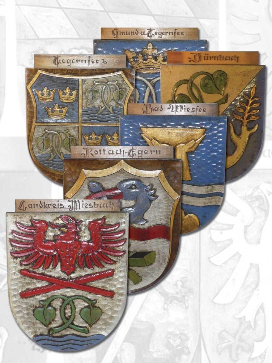 Wappengeschenke mit Symbolkraft