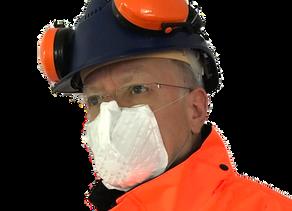 Mund-Nase-Schutz-Masken für die Arbeit