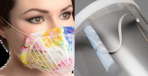Masken & Visiere für Augen, Mund und Nase