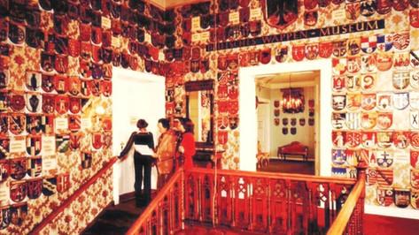 Treppenhaus Königliche Villa Berchtesgaden