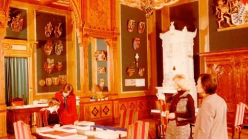 Hunting hall of the Royal Villa Berchtesgaden