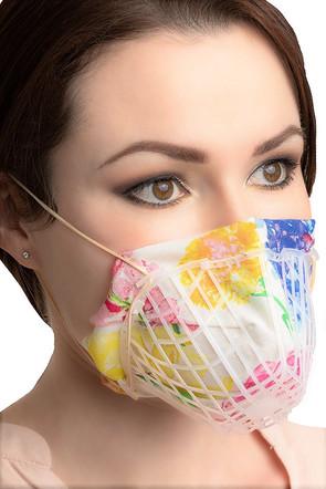 Schutzmasken im FFP Look selber bauen.