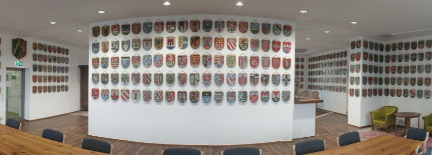 South Germany coat of arms exhibition
