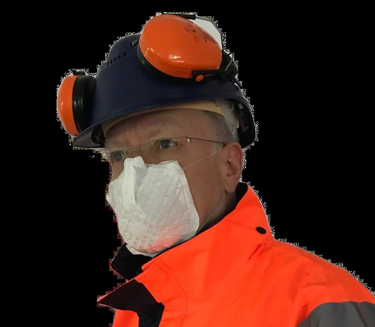 Arbeitsschutz mit Bausatzmaske
