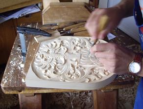 Wappenschnitzerei ist Kunsthandwerk