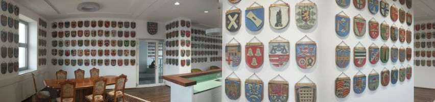 West Germany coat of arms exhibition