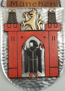 Armoiries de la capitale de l'état Munich