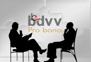 Wie Sie von einer bdvv-Mitgliedschaft profitieren? Pro bono!