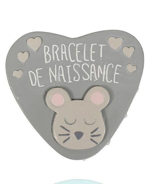"""Boîte """"Souris"""" bracelet de naissance"""