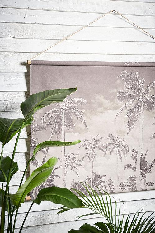 """Toile imprimée """"Ciel palmier"""""""