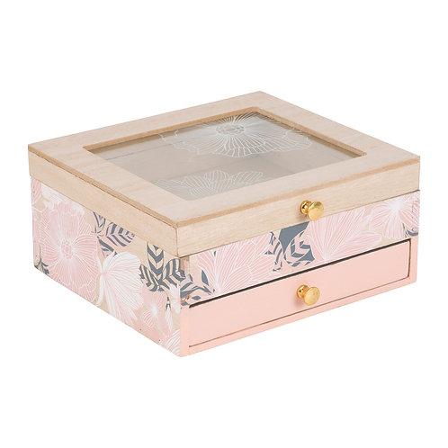 """Boîte à bijoux """"Akasya"""" rose"""