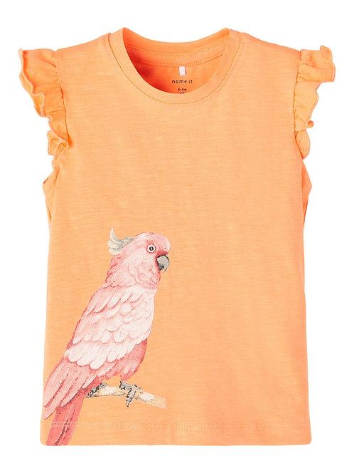 "T-shirt ""Jennifer"" orange"