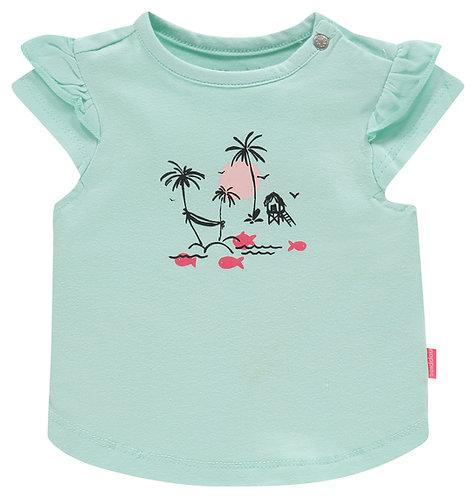 """T-shirt """"Chino"""" turquoise"""