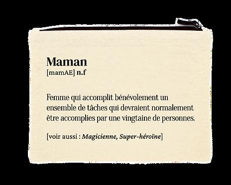 """Pochette """"Maman"""""""
