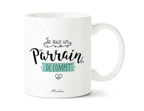 """Mug """"Parrain"""""""
