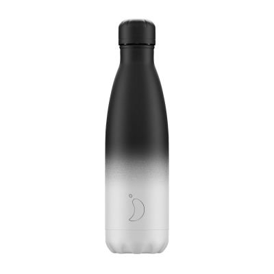 "Bouteille isotherme ""Noir/blanc"" 500ml"