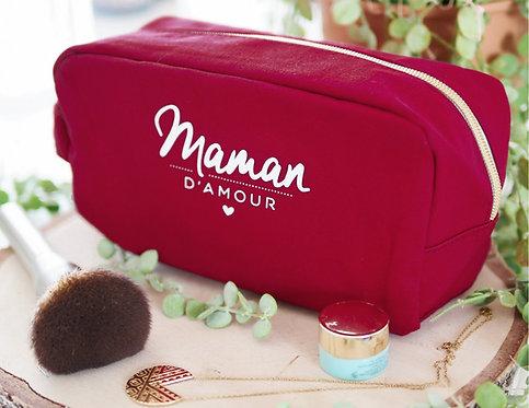 """Trousse de toilette """"Maman d'amour"""""""