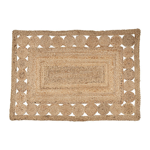 "Tapis ""Boho"" naturel"