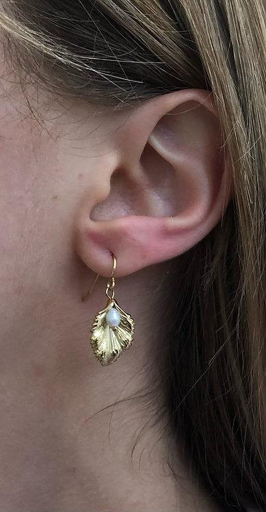 """Boucles d'oreilles """"Perle"""""""