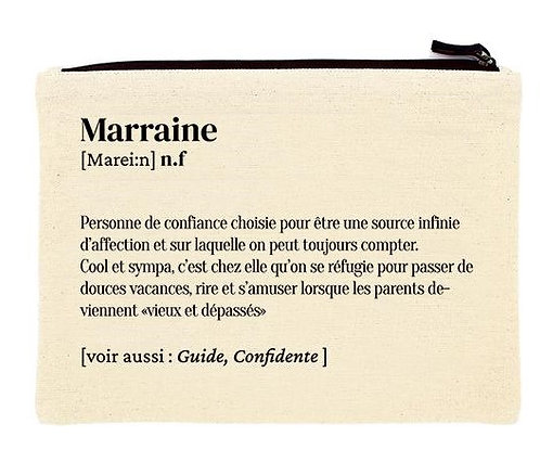 "Pochette ""Marraine"""