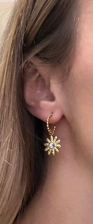 Boucles d'oreilles en acier inoxydable