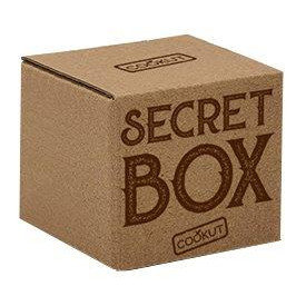 Secret box marron foncé