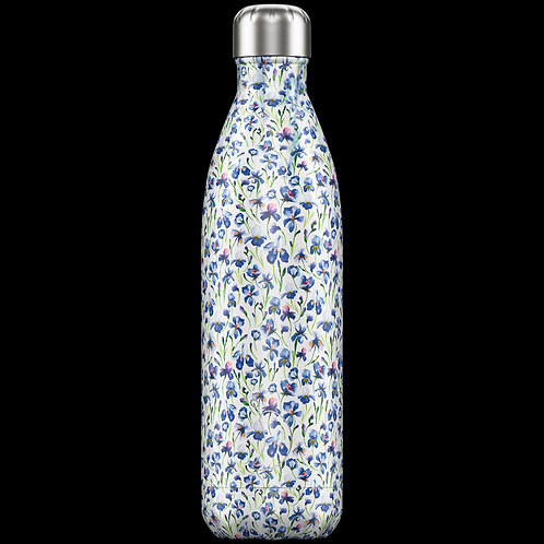 "Bouteille isotherme ""Floral"" iris 750ml"