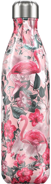 """Bouteille isotherme """"Flamand rose"""" 750ml"""