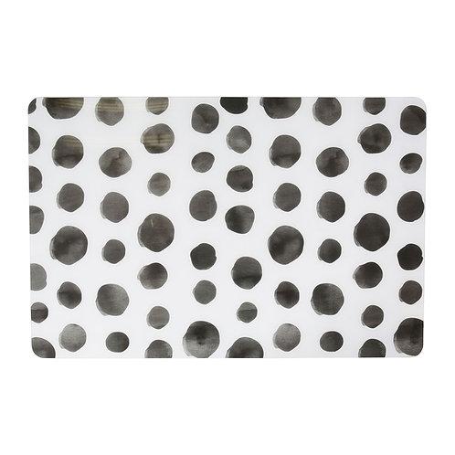 Set de table pois gris