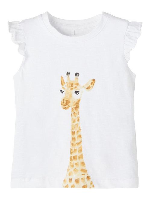 "T-shirt ""Jennifer"" blanc"
