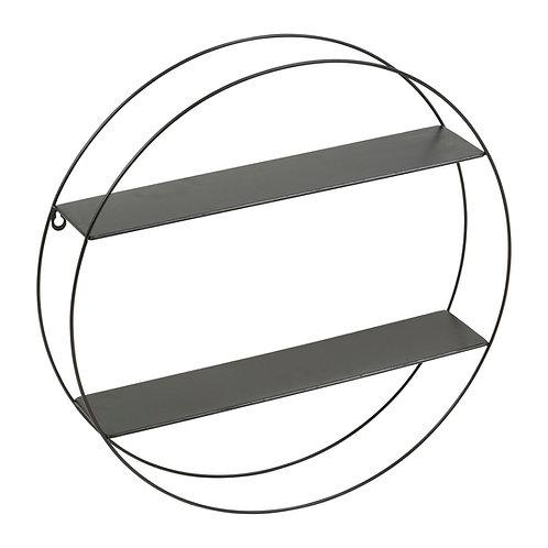 Etagère ronde métal