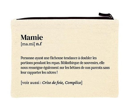 "Pochette ""Mamie"""