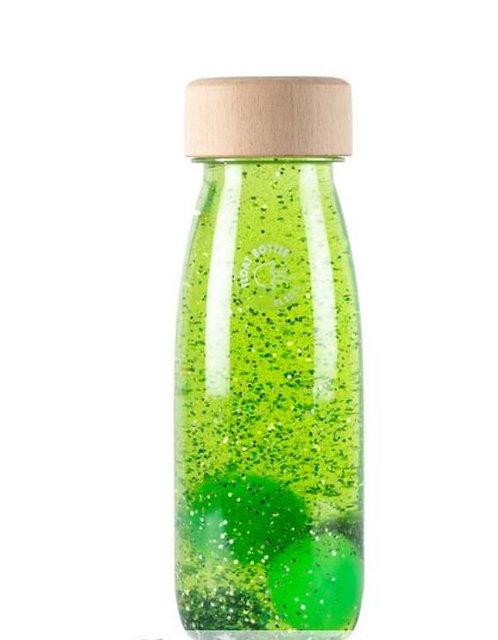Bouteille sensorielle Float vert