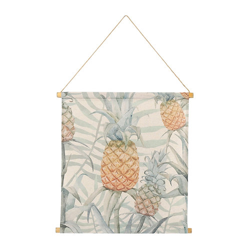 Toile imprimée ananas