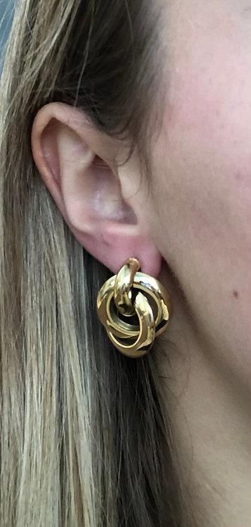 """Boucles d'oreilles """"Double anneau"""""""
