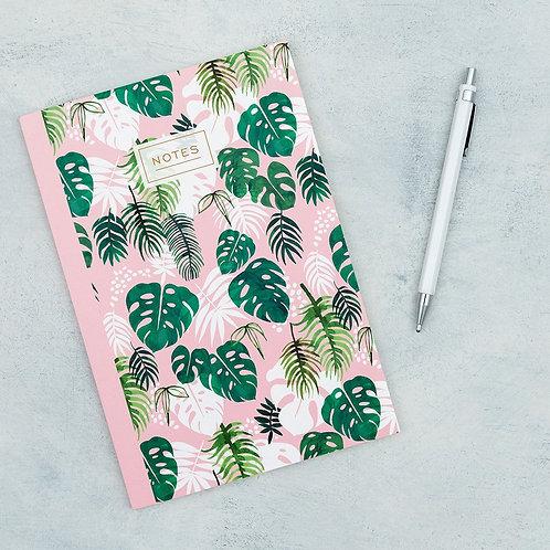 """Carnet de notes A5 """"Tropical Palm"""""""