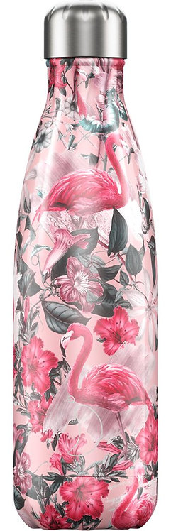"""Bouteille isotherme """"Flamand rose"""" 500ml"""